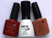 Мои гель-лаки: Shellac, Pink Up — свотчи и отзывы