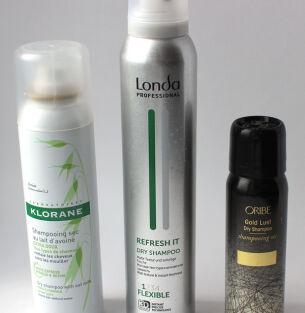 Тесты сухих шампуней: Klorane, Londa, Oribe