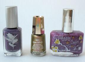 Мои лаки для ногтей: Priti NYC, Mavala, El Corazon