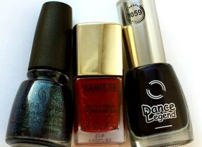 Мои лаки для ногтей: China Glaze, Л'Этуаль, Dance Legend