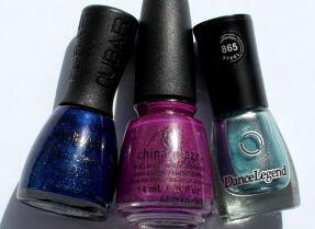 Мои лаки для ногтей: Nubar, China Glaze, Dance Legend