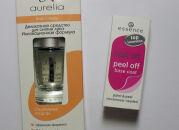 Два моих самых больших разочарования: база Essence и покрытие-смывка Aurelia