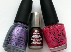 Мои лаки для ногтей: China Glaze, Mavala, O.P.I