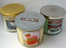 Ароматические свечи Bath & Body Works, Stenders, Caudalie – отзыв