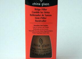 Выравнивающая основа под лак China Glaze Ridge Filler Base Coat