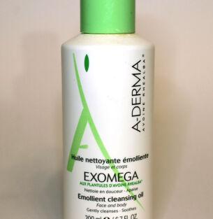 Очищающее масло A-Derma Exomega – уход и очищение два-в-одном