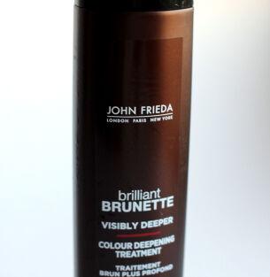 John Frieda Brilliant Brunette Visibly Deeper – средство для освежения цвета темных волос